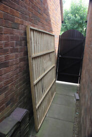 New 6ft x 6ft fence panel