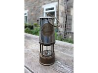 Collectible Eccles Miners Lamp Type 6 M & Q