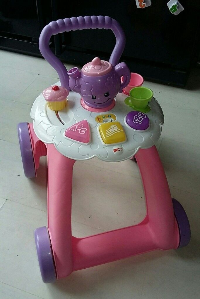 Fisher Price Tea Cart Walker Great Condition With Box