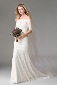 WToo by Watters Savannah Wedding Dress Size 10