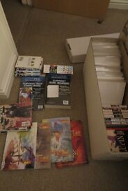Comics (x130) /Graphic Novels (x29), mixed box of Dragonball, Marvel, DC, Image, WS and others