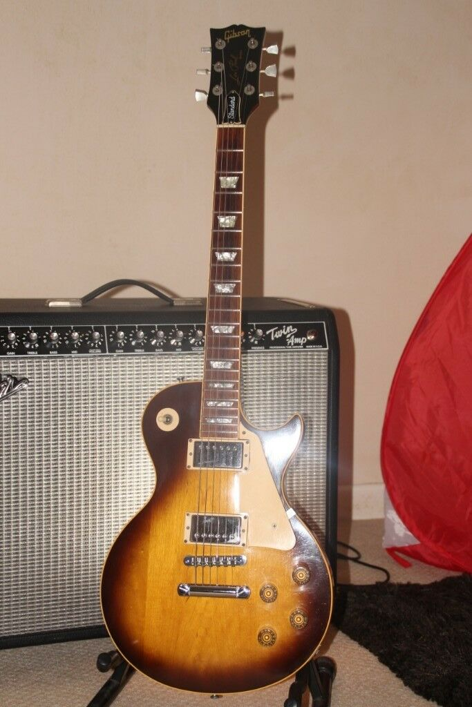 Dating a gibson les paul standard