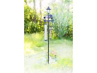 6 in 1 weather Station with Solar Light