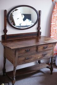 Vintage 1920s Dressing Table
