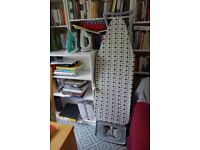 Ironing board and 2 irons, £20
