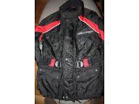 REDUCED: Ladies motor bike jacket size 10 - 12