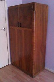 1950s/1960s Antique (solid wood) wardrobe