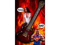Electric Guitar. Epiphone SG Custom Prophecy