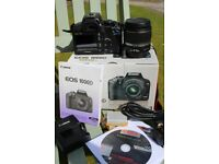 Canon 1000D camera in excellent condition - 10Mp – 18-55 lens – plus extras.