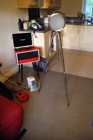 Large Floor Lamp (tripod) - high quality and hardly used. No damage.