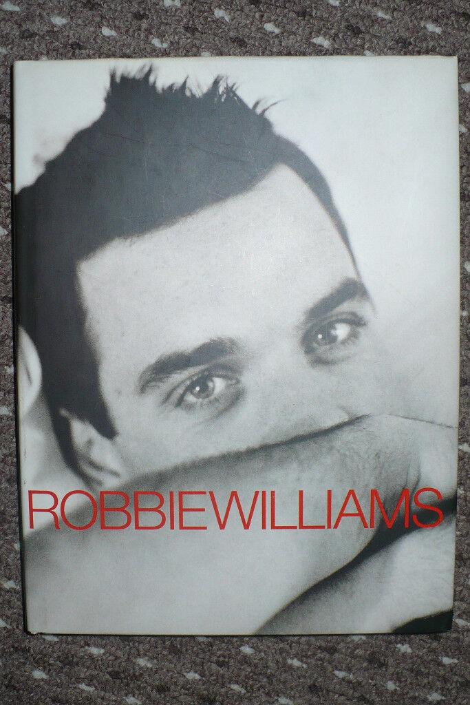 Robbie Williams: Somebody Someday. Hardback.