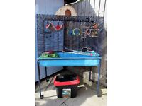 Big cage for hamsters, rats, chinchillas, degus