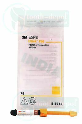 3m Espe Filtek P60 Posterior 4gm Syringe Refill Shade A3 - Free Shipping