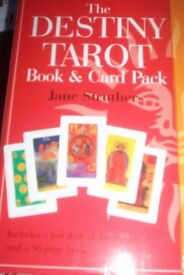 The Destiny Book & Tarot Card Pack by Jane Struthers