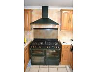 Diplomat DFa1100WLDL 110cm Dual (Electric and Gas) Oven