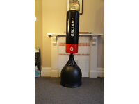 Gallant boxing punch bag 5.5 ft + Boxing Gloves + Curved Thai Training Pad Set + jumping rope