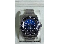 Rolex deep sea dweller Deepsea oyster diver JC James Cameron D-blue luxury automatic watch WAVE BOX