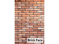 Brick slips- brick face wall tiles, cladding