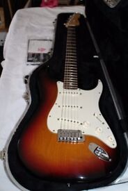 Fender Stratocaster American Deluxe 2003 with Rosewood neck