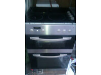DOUBLE ELECTRIC OVEN & HOB