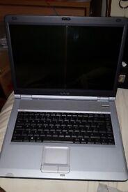 Sony laptop model PCG-9U1M, 80GB hdd