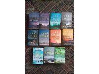 Jack Reacher Books x 11 by Lee Child
