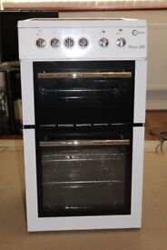 Fleval Milano E50 Freestanding Electric Oven Cooker Hob Grill