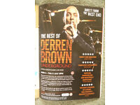 Derren Brown @ Cliffs Pavilion on 5th July 2018 @ 8pm. One ticket Stalls row R. £40 (cost £42.50)