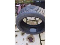 Free Bridgestone Potenza tyre 245 40 R18