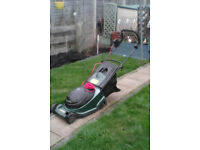 Atco Regent 14 electric rotary lawnmower,..