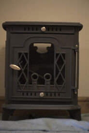 Kimmeridge 8KW Multifuel Stove, Never used/installed, less than a year old.