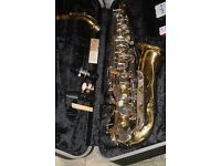 Vintage Conn 20M alto saxophone with 2 mouthpieces