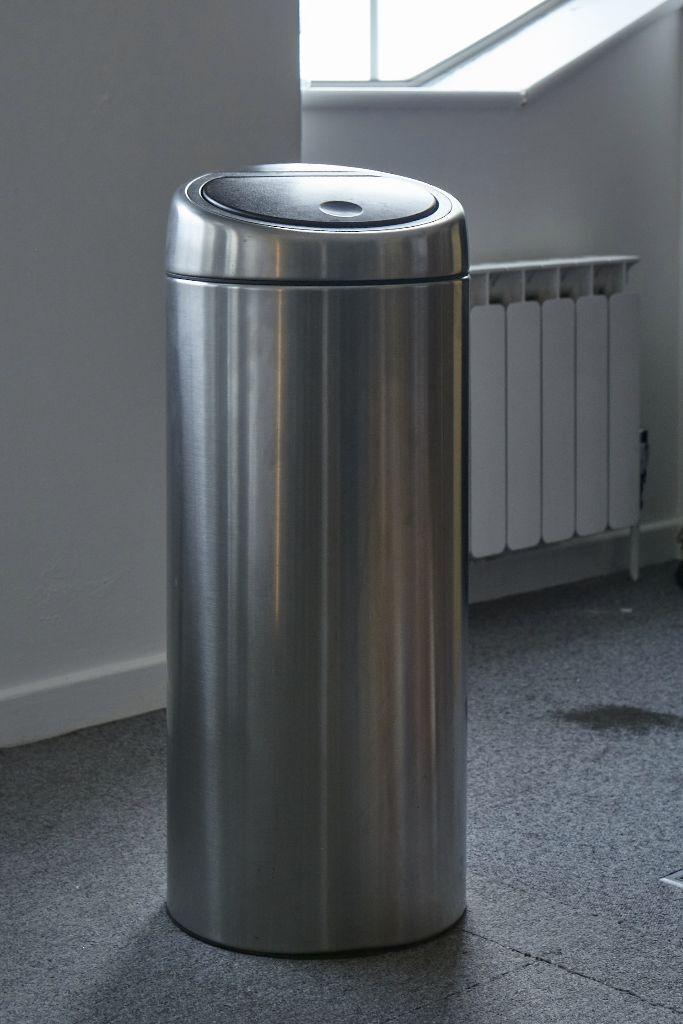 Brabantia Touch Bin 30 Liter.Brabantia Touch Bin 30 L Matt Steel In Mile End London Gumtree