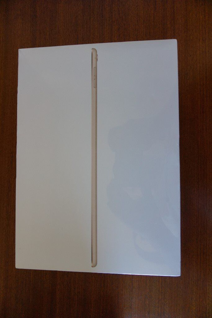 "Apple iPad Pro 9.7"" 256gb Gold wifi new and sealed in boxin Northallerton, North YorkshireGumtree - Apple iPad Pro, new and sealed in box. It is a gold coloured one, 256gb, wifi and a 9.7"" version. It is available as it is an unwanted gift received by me but as I already have an iMac and an iPhone I dont feel I need this item as lovely as it will..."