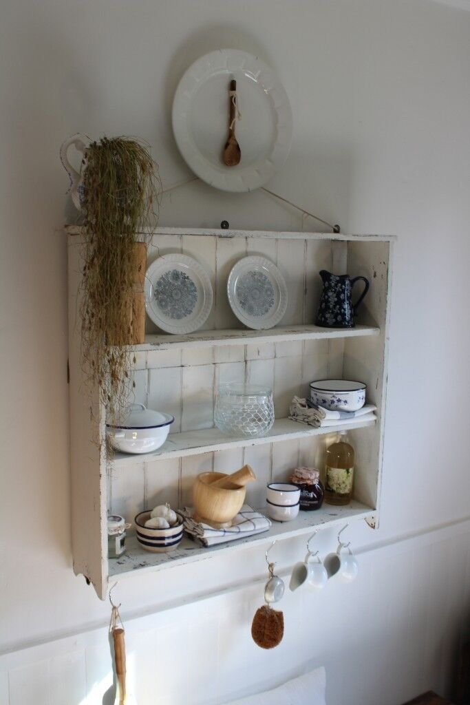 Kitchen Dining Wall Unit Plate Rack