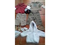 0-3 Mths Boy's John Rocha/Next outfits x10 Bargain Price at £6 EXC CONDITION