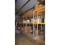 Heavy duty, Dexion style racking in very good condition. Suitable for a wide range of stores areas