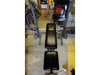 Weider 224 Foldable Weights Bench