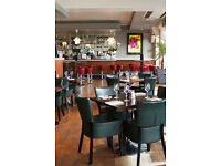 FULL TIME WAITER/WAITRESS REQUIRED FOR BUSY CENTRAL LONDON RESTAURANT