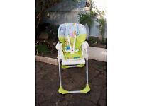 Chicco Polly 2 in 1 Folding High Chair