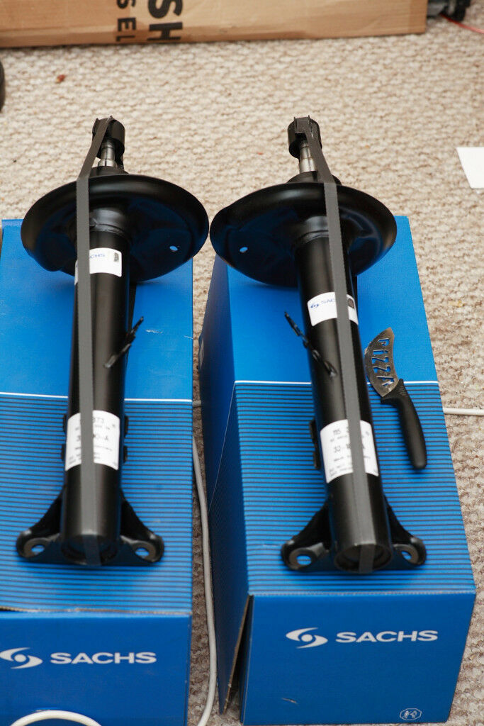 New Sachs gas front struts for BMW E36 non-motorsport