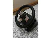 Logitech G27 USB Steering wheel for PC! Very good condition
