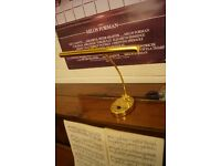 Brand new piano lamp in box, Can post.