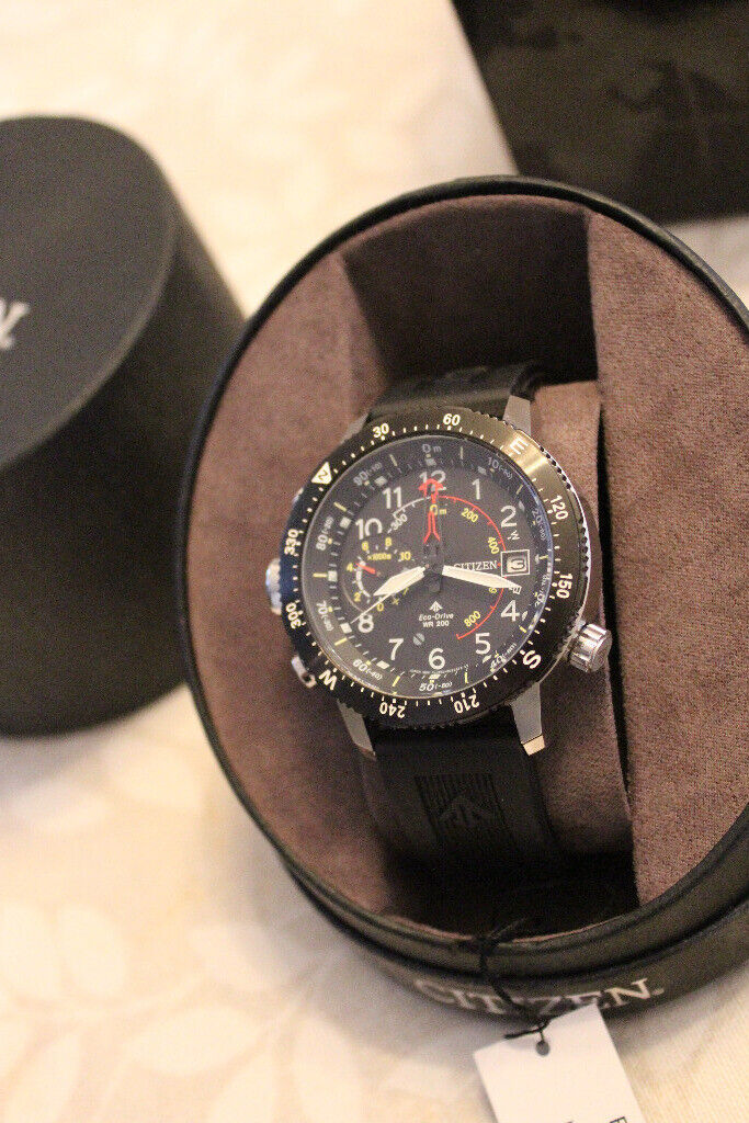 e084bc2a0 Citizen Altichron Climbers/Mountaineers Watch with Altimeter and Compass