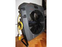 Broughton MB 50-13 Industrial Blower Man Cooler Cooling Fan Air Mover 110V
