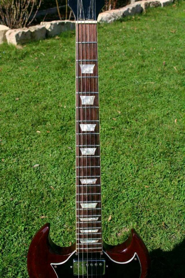 1970 Gibson SG T-Top AC/DC Angus Young in Cadolzburg
