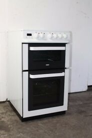 Zanussi 50cm Ceramic Top Cooker/Oven Digital Display Excellent Condition 12 Month Warranty