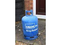 calor gas bottle (Caravan or BBQ) empty