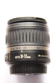 Canon EF-S 18-55mm f/3.5-5.6 II DSLR Lens