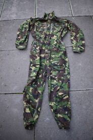 DPM Issue AFV (Armoured Fighting Vehicle) Crewman Coveralls - Size LARGE